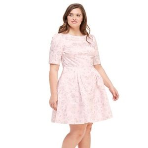 Gal Meets Glam Mary Cherry Blossom Floral Dress
